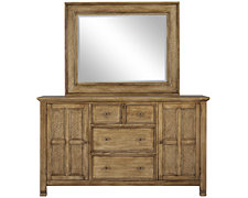 Isle Light Tone Dresser & Mirror