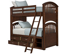Kaya Mid Tone Storage Bunk Bed