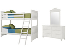 Lauren White Bunkbed Bedroom