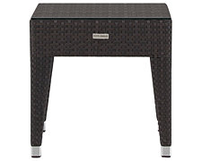 Zen2 Dark Tone Square End Table