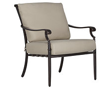 Naples Beige Cushioned Chair