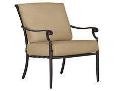 Naples Khaki Cushioned Chair