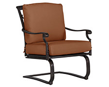 Naples Rust Spring Chair
