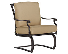 Naples Khaki Spring Chair