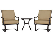 Naples Khaki Outdoor Chat Set