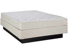 Emerson Firm Innerspring Eurotop Mattress & Foundation