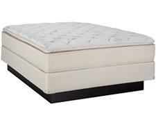 Caspian Medium Innerspring Pillowtop Mattress & Foundation