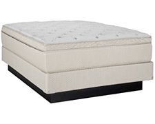 Sierra Medium Innerspring Eurotop Mattress & Foundation