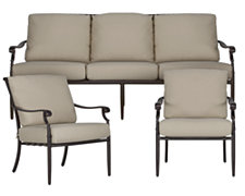 Naples Beige Outdoor Living Room Set