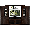 Dark Tone Small Entertainment Wall