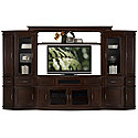Dark Tone Large Entertainment Wall