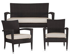 Zen2 White Outdoor Living Room Set