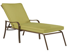 Palm Key Lt Green Chaise