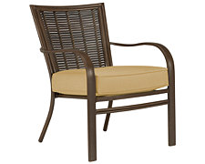 Palm Key Lt Gold Chair