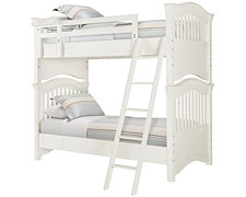 Adrian White Bunk Bed