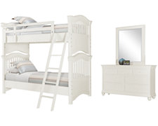 Adrian White Bunkbed Bedroom