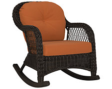 Java Rust Rocking Chair