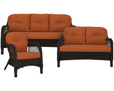 Java Rust Outdoor Living Room Set