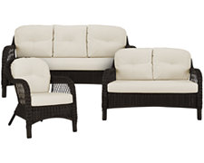 Java Lt Beige Outdoor Living Room Set