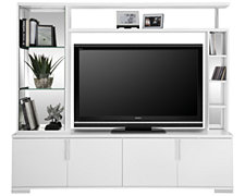 Signa White Entertainment Unit