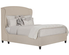 Canyon Lt Taupe Upholstered Platform Bed