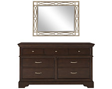 Canyon Mid Tone Small Dresser & Mirror