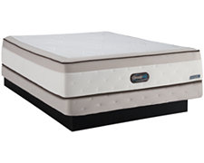 Bryanna Plush Innerspring Mattress & Low-Profile Foundation
