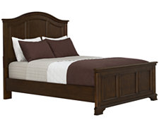 Claire2 Dark Tone Panel Bed