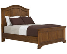 Claire2 Mid Tone Panel Bed