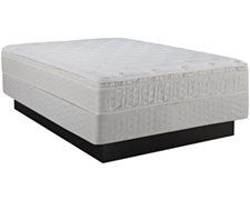 Quimby Innerspring Plush Eurotop Mattress & Boxspring