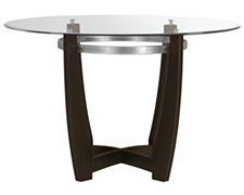 Matinee Dark Tone Glass Round Table