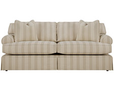 Erica Stripe Fabric Sofa