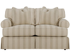 Erica Stripe Fabric Loveseat