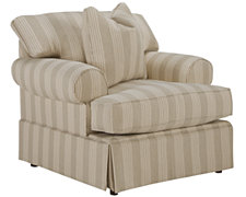 Erica Stripe Fabric Chair