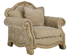 Regal Light Tone Fabric Chair
