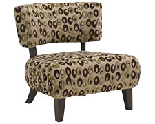 Sheila Multi Fabric Accent Chair