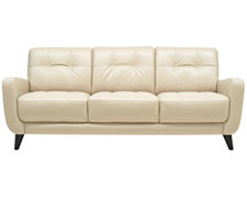 Venus Lt Beige Leather Sofa