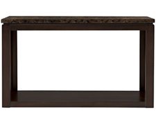 Becca Dark Tone Faux Stone Sofa Table