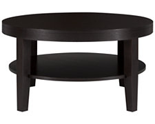 Encore2 Dark Tone Round Coffee Table