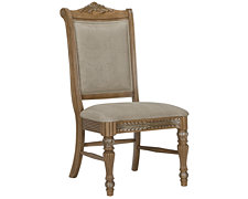 Tradewinds Light Tone Upholstered Side Chair
