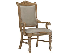 Tradewinds Light Tone Upholstered Arm Chair