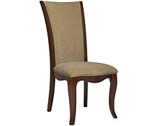 Avalon Dark Tone Upholstered Side Chair
