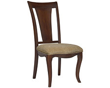 Avalon Dark Tone Wood Side Chair