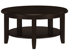 Torino2 Dark Tone Round Coffee Table