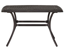 Naples Rectangular Aluminum Coffee Table