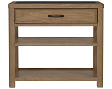 Forecast Light Tone Wood Nightstand