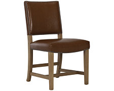 Forecast Light Tone Upholstered Side Chair