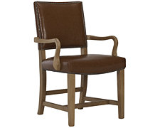 Forecast Light Tone Upholstered Arm Chair