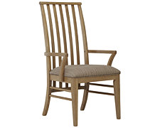 Forecast Light Tone Wood Arm Chair