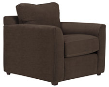 Express3 Dk Brown Microfiber Chair